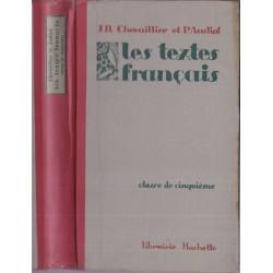 Les textes français, classe...