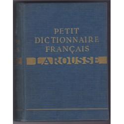 Petit dictionnaire français...