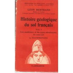 Histoire géologique du sol...