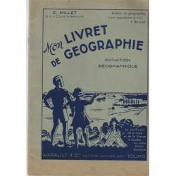 Mon livret de géographie,...