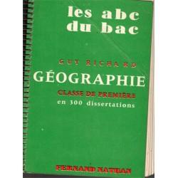 Les abc du bac, géographie...