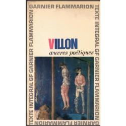 François Villon, œuvres...
