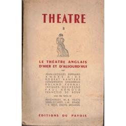 Le théâtre anglais d'hier...