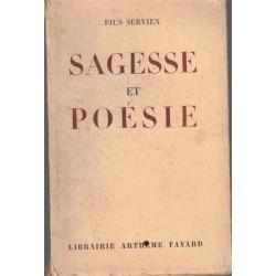 Sagesse et poésie, Pius...