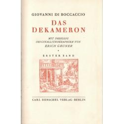 Das Dekameron, Giovanni Di...