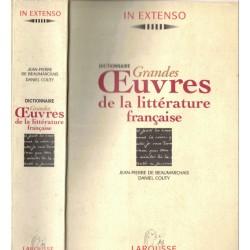 Dictionnaire Grandes œuvres...