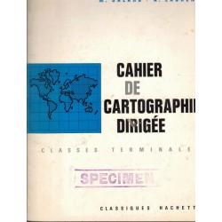 Cahier de cartographie...