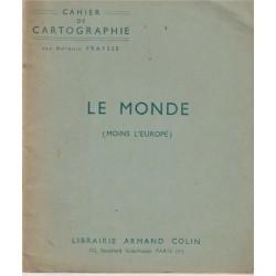 Cahier de cartographie, Le...