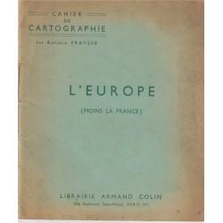Cahier de cartographie,...