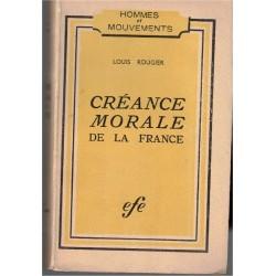 Créance morale de la...