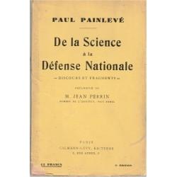 De la science à la Défense...