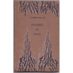 Paysages de Paris, 1919,...