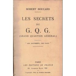 Les secrets du G.Q.G. grand...
