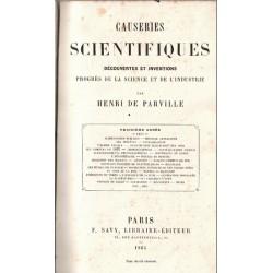 Causeries scientifiques...