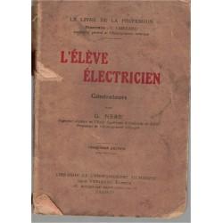 L'élève électricien,...