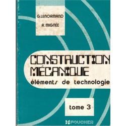 Construction mécanique,...