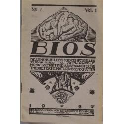 Bios n°7 1927, revue des...