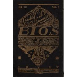 Bios n°10 1927 revue des...