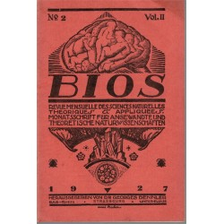 Bios n°2 1927, revue des...