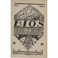 Bios n°9 1927, revue des...
