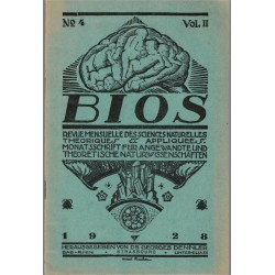 Bios n°4 1927, revue des...