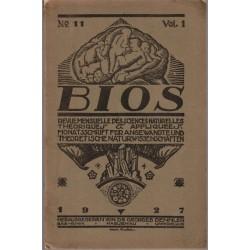 Bios n°11 1927, revue des...