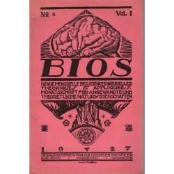 Bios n°6 1927, revue des...