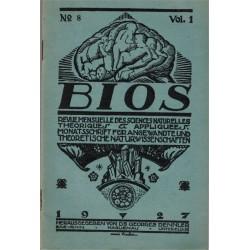 Bios n°8 1927, revue des...