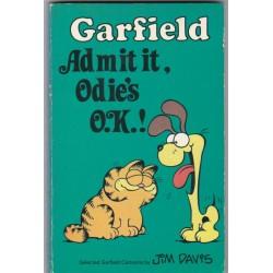 Garfield, admit it, odie's...
