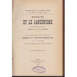 Bossuet et le jansénisme,...