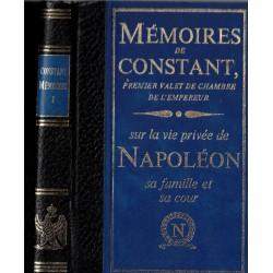 Mémoires de Constant,...