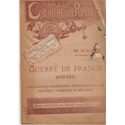 Guerre de France 1870-1871,...