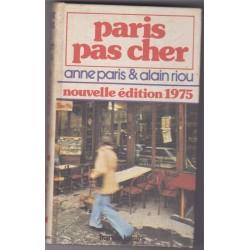 Paris pas cher, édition...