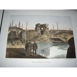 Gravure ancienne de 1880,...