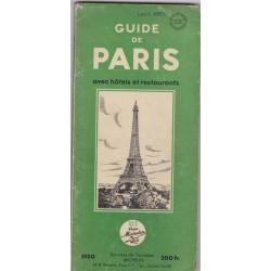 Guide de Paris avec hôtels...