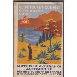 Guide touristique 1953,...