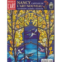 Dossier de l'art, Nancy...