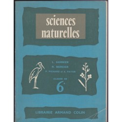 Manuel Sciences naturelles,...