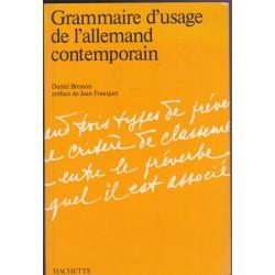 Grammaire d'usage de...