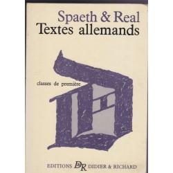 Textes allemands, classe de...
