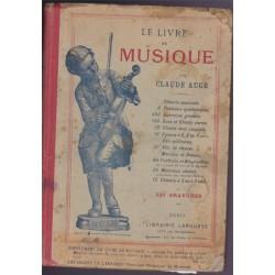 Le livre de musique, Claude...