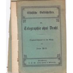 Telegraphie ohni Droht,...