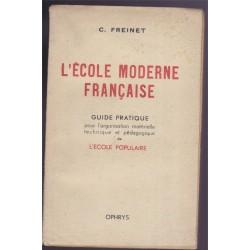 L'école moderne française,...