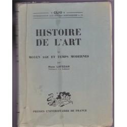 Histoire de l'art II, Moyen...