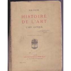 L'art antique, histoire de...