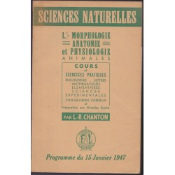 Sciences naturelles,...
