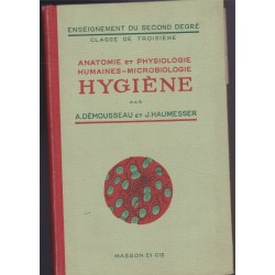 Anatomie et physiologie...