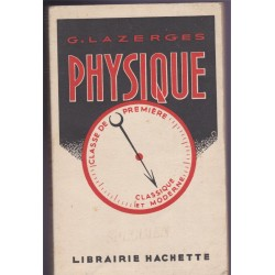 Physique, classe de 1ère,...
