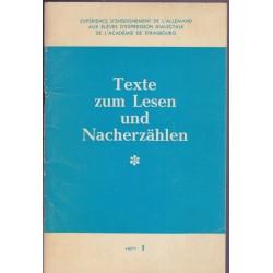 Texte zum Lesen und...