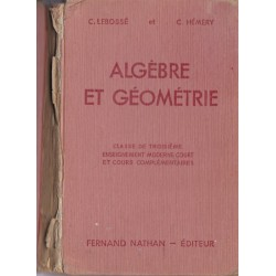 Algèbre et géométrie classe...